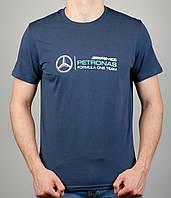 Мужская футболка Puma Mercedes 4115 Тёмно-серая