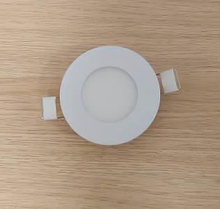 Светильник врезной LED Downlight  3W 6500K/4000К/3000К  диаметр 85мм круглый алюминиевый корпус !