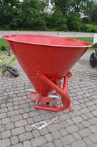 Разбрасыватель минеральных удобрений навесной Jar-met 650 кг, фото 3
