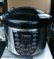 Мультиварка для дома Domotec DT-518 на 5 литров и 15 автоматических режимов приготовления.