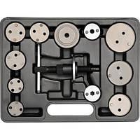 Набор инструментов для разжимания тормозных цилиндров YATO, 12пр.