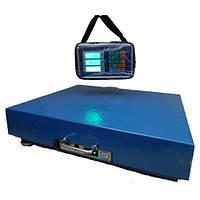 Платформенные электронные ВОДОНЕПРОНИЦАЕМЫЕ и БЕСПРОВОДНЫЕ весы, 500 кг., фото 1