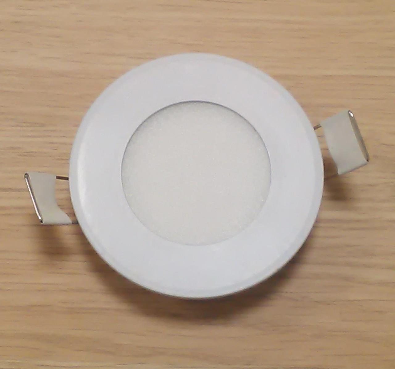 Светильник врезной LED Downlight  6W 6500K/4000К/3000К  диаметр 120мм круглый алюминиевый корпус !