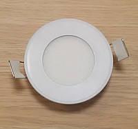 Светильник врезной LED Downlight  6W 6500K/4000К/3000К  диаметр 120мм круглый алюминиевый корпус
