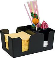 Органайзер Барная подставка для салфеток и трубочек