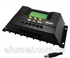Фотоэлектрический контроллер заряда JUTA CM3048, 30А 48В, PWM