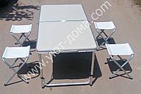 Набор мебели алюминиевый для пикника, фото 1