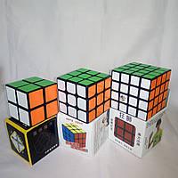 """Три кубика-Рубика """"2+3+4"""" от ShengShou+Moyu+Yuxin"""