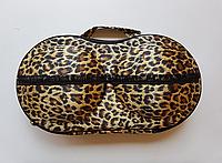 Футляр для перевозки купальников теплый леопард