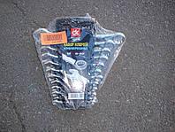Набор ключей (накидной + рожковой) 6-22 мм, 12 штук (производитель Дорожная карта, Харьков)