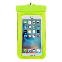Чехол водонепроницаемый Baseus Waterproof для мобильных телефонов 5.5 inches Green