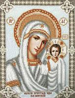 Схема для вышивки бисером Т-0375 Богородица Казанськая
