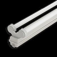 Корпус светильника Atom 760 236 2*1200мм для светодиодных LED ламп T8 IP65 (Германия) герметичный промышленный