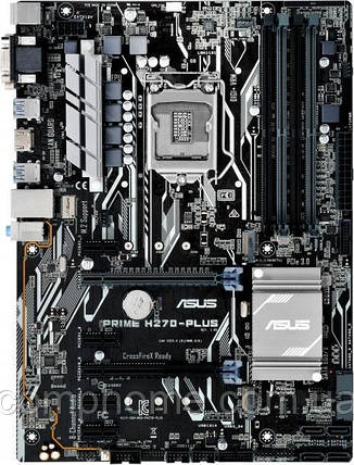 Материнская плата Asus Prime H270-Plus (s1151, Intel H270, PCI-Ex16), фото 2