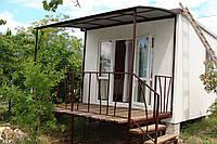 Веранды, выносные балконы.Изготовление и монтаж в Севастополе и Ялте.