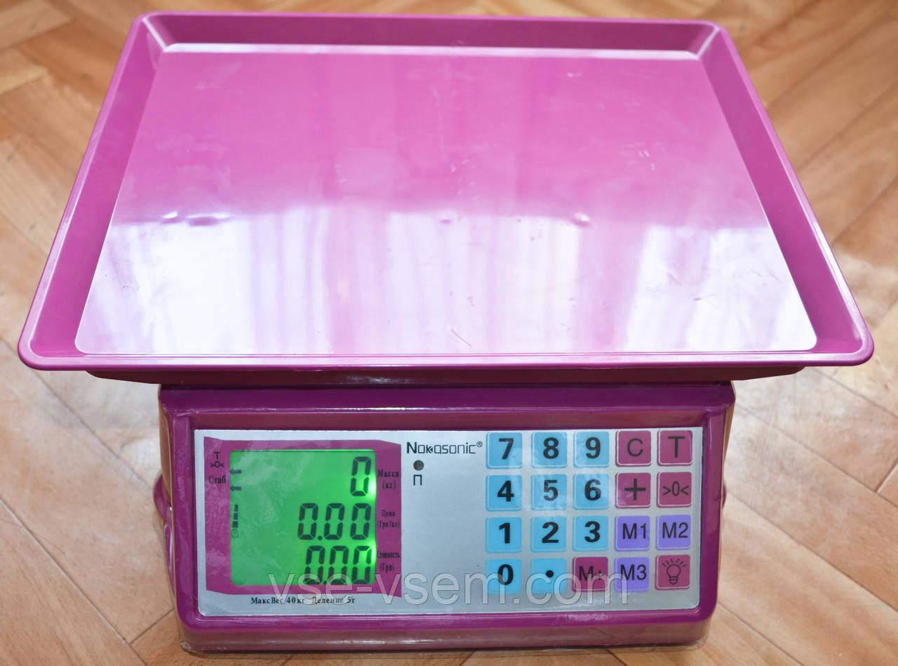 Торговые весы ACS (Wimpex) до 40 кг.