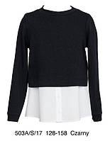 Кофта школьная Sly 503A/S/17, цвет черный