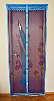 Антимоскитная сетка (антимоскитные шторы) на магнитах 210 Х 100 см.