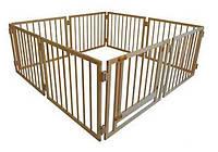 Детский манеж складной 72 см, 8 секций с воротами