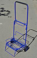 Візок (кравчучка) господарська, суцільнометалева, залізні колеса на підшипниках, висота 100 см