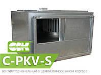 Вентилятор канальный прямоугольный в шумоизолированном корпусе C-PKV-S