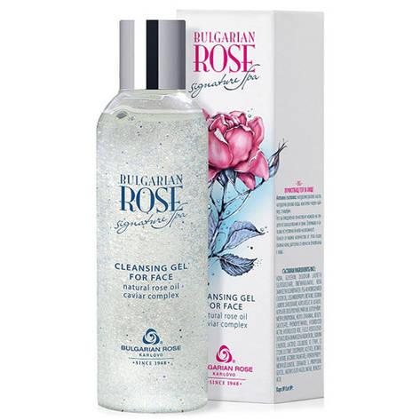 Очищуючий гель для обличчя Болгарська Троянда Bulgarian Rose Signature Spa 200 мл, фото 2