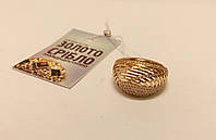 Золотое кольцо с камнями. Вес 3,96 грамм. Комиссионное, б/у.