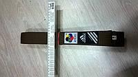 Пояс для каратэ с логотипом Адидас WKF aproved