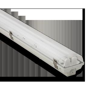 Светильник Atom 771 258 2*1500мм для LED ламп T8 IP65 (67), корпус без ламп (Германия)