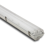 Корпус светильника Atom 771 258 2*1500мм для LED ламп T8 IP65 (67) (Германия) герметичный промышленный, фото 1