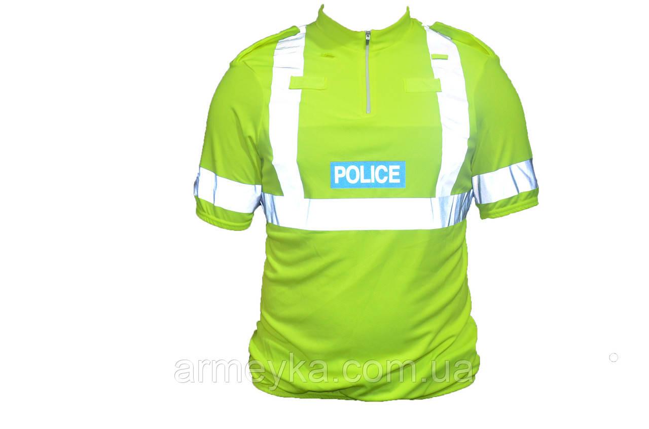 CoolMax светоотражающая футболка полиции Великобритании НОВОЕ. Оригинал.