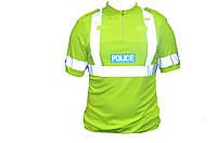 CoolMax светоотражающая футболка полиции Великобритании НОВОЕ. Оригинал., фото 1