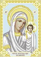 Схема для вышивки бисером Т-0525 Казанськая Пресвятая Богородиця