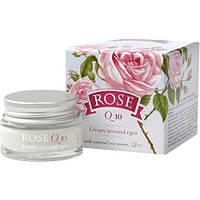 """Крем под глаза """"Rose Q10"""" с натуральным розовым маслом, """"Болгарская роза - Карлово"""""""