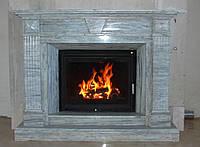 Камины из мрамора с разводкой тепла