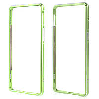 Чехол бампер металл Aluminium Alloy для OnePlus 3 | 3T зеленый