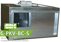 Канальный вентилятор в шумоизолированном корпусе C-PKV-BC-S-80-50-4-380