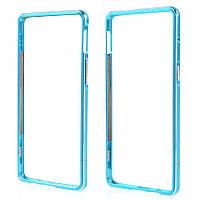 Чехол бампер металл Aluminium Alloy для OnePlus 3 | 3T голубой