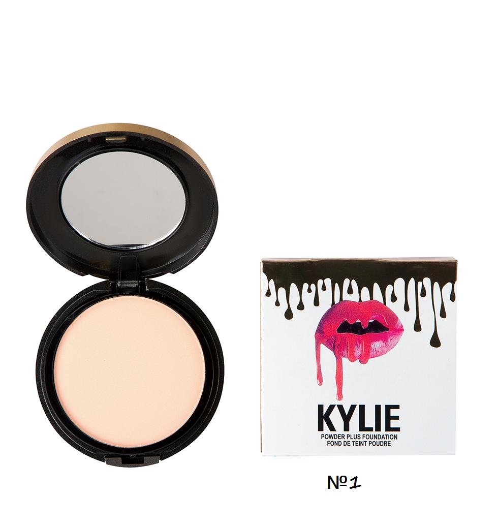 Пудра для лица Kylie Powdwr Plus ( Палитра А - 1,3,5) Белая 7022 |