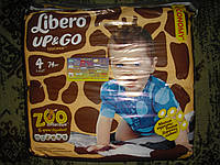 Подгузники-трусики Libero UP&GO размер 4 (74шт.)