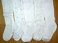 Колготы белые ажурные оптом, Armando, Венгрия 1-12 рр, фото 1