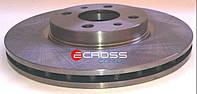 Тормозной диск передний правый - левый б.у., 46401356, Citroen Nemo, Peugeot Bipper, Fiat Fiorino 2008-