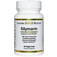 Silymarin 300 mg California Gold Nutrition 30 veggie sofgels