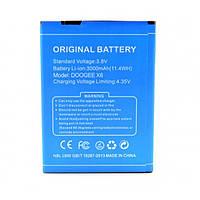 Аккумулятор для DOOGEE X6, X6 Pro 3000mAh (Original)