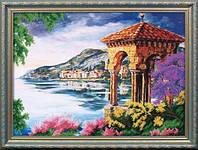 Набор для вышивания бисером Пейзаж с альтанкой