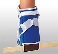 Ортез на голеностопный сустав деротационный сапожок ДС-1  Reabilitimed Синий, серый цвет размер- UNI