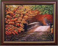 Набор для вышивания бисером Осенний мостик