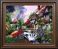 Набор для вышивания бисером Сказочный пейзаж 3