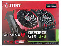 Видеокарта MSI PCI-Ex GeForce GTX 1070 Gaming X 8GB GDDR5