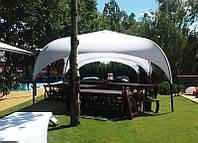 """Палатка торговая, для отдыха - """"Парк"""" 4х4 метра. Белого цвета"""